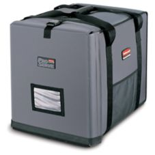 Rubbermaid PROSERVE Medium Gray Insulated End-Loading Full Pan Carrier