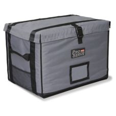 Rubbermaid PROSERVE® Gray Insulated Top-Loading Full Pan Carrier