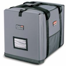 Rubbermaid PROSERVE Large Gray Insulated End-Loading Full Pan Carrier