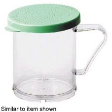 Clear 10 oz Camwear® Shaker w/ Green Lid