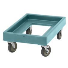 Cambro CD300401 Slate Blue Camdollies Food Box Dolly For Camcarriers