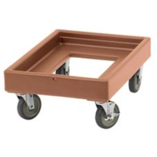Cambro CD100157 Camdollies® Coffee Beige Dolly for Camcarriers