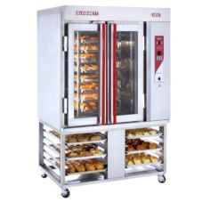 Blodgett XR8-GS/STAND Gas Convection Mini Rotating Rack Bakery Oven