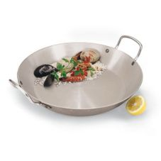 "Paderno World Cuisine Carbon Steel 12-1/2"" Paella Pan"