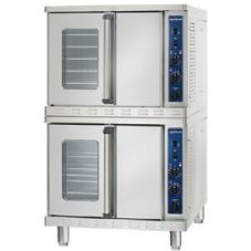 Alto-Shaam 2-ASC-4E/STK-MAN Platinum Stacked Electric Convection Oven