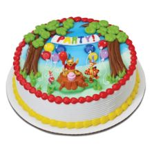 DecoPac 31869 Pooh Magic Balloon DecoSet - 6 / BX