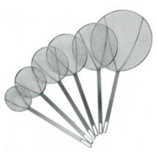 "Update International SKM-8WG 8"" Round Wire Skimmer"