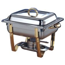 American Metalcraft Allegro™ Half-Size 5 Qt Stackable Chafer