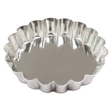 "JB Prince 3.5"" Fluted Tartlette Mold"