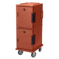 Cambro UPC800402 Brick Red Ultra Camcarts for 8 Full Size Food Pans