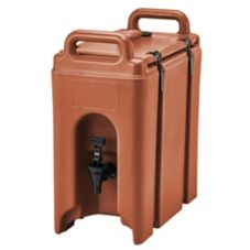 Cambro® 250LCD402 Brick Red 2.5 Gal Beverage Camtainer®