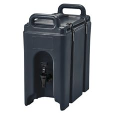 Cambro® 250LCD110 Black 2.5 Gal. Beverage Camtainer®