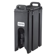 Cambro® 500LCD110 Black 4.75 Gal. Beverage Camtainer®