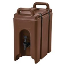Cambro® 250LCD131 Dark Brown 2.5 Gal Beverage Camtainer®