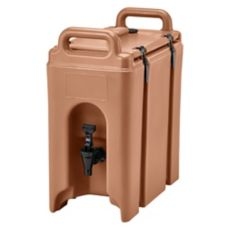 Cambro® 250LCD157 Coffee Beige 2.5 Gal Beverage Camtainer®