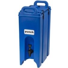 Cambro® 500LCD186 Navy Blue 4.75 Gal Beverage Camtainer®