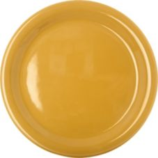 "Carlisle® 4300422 Durus® 9"" Honey Yellow Plate - 24 / CS"