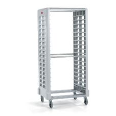 Rubbermaid® FG331900OWHT Max System 18-Slot Side Loading Pan Rack