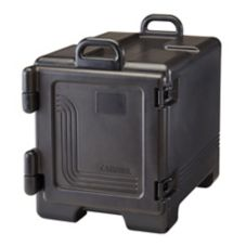 Cambro 300MPC110 Black Front Load Full Size Food Pan Camcarrier®