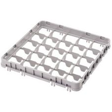 Cambro 25E2151 Soft Gray Full Size 25-Compt Half Drop Camrack Extender