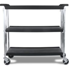 Carlisle® SBC203103 Fold 'N Go® Large Black Cart