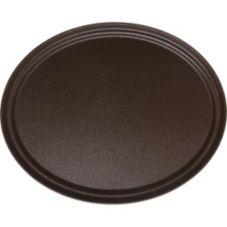 "Carlisle® 2500GR076 GripTite™ 24"" Tan Oval Tray"