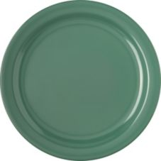"Carlisle 4350009 Dallas Ware 10-1/4"" Green Dinner Plate - 48 / CS"