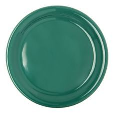 "Carlisle 4300409 Durus 9"" Meadow Green Narrow Rim Plate - 24 / CS"