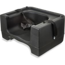 Carlisle® 7111-403 Black Booster Seat with Strap