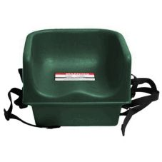 Cambro 100BCS519 KY Green Single Height Booster Seat with Safety Strap