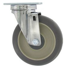 "Cambro 60008 5"" Swivel Caster for SlidingLid Ice Caddy"