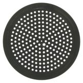 "LloydPans XPT20-12-PST Anodize 12"" Perforated Pizza Pan"