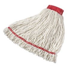 Rubbermaid® FGA25306WH00 Anti-Microbial Mop Head w/ Band - 6 / CS