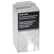 Cal-Mil WA7043 Hair Net Dispenser with Label and Mounting Hardware