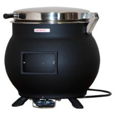 Server 11 Qt Soup Kettle w/ Hinged Lid