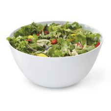 G.E.T. M-815-W Diamond White™ 5 Qt Serving Melamine Bowl - Dozen