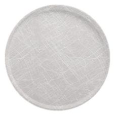 "Cambro® Camtray® 16"" Abstract Gray Low Profile Round Tray"