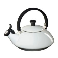 Le Creuset® Q9213-16 White 1.6 Qt. Zen Tea Kettle
