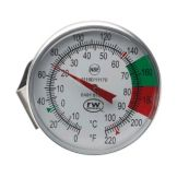 "Espresso Supply 11507 Easy Stem 7"" Thermometer with Clip"