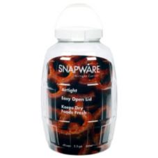 Snapware® 1098530 Clear Polypropylene 2.5 Gallon Airtight Canister