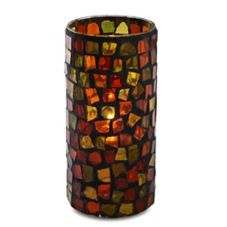 Sterno Products® 80160 Earthtone Mosaic Lamp