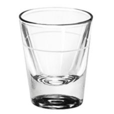 Lined 1.25 oz Whiskey Glass w/ 7/8 oz Line
