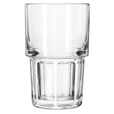Gibraltar Stackable Duratuff Hi-Ball Glass, 9 oz