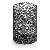Tablecraft BK358 Boucle Collection™ Black Breadstick Holder