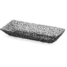 "TableCraft BK37309 Boucle Collection™ 12-1/2"" Black Basket"