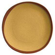 """Syracuse 922226352 Terracotta Mustard Seed  10-3/4"""" Plate - 12 / CS"""