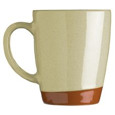 Syracuse® 922222354 Terracotta 14 Oz. Pine Tan Mug - 12 / CS