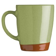 Syracuse® 922224354 Terracotta 14 Oz. Fern Green Mug - 12 / CS