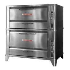 Blodgett 951 & 966 Gas Deck Type Double Oven For Baking / Roasting