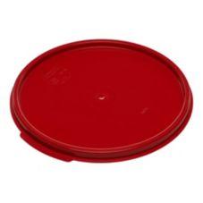 Carlisle® 1077205 StorPlus™ 6/8 Qt. Round Red Container Lid